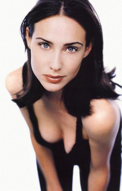 Claire Forlani in lingerie