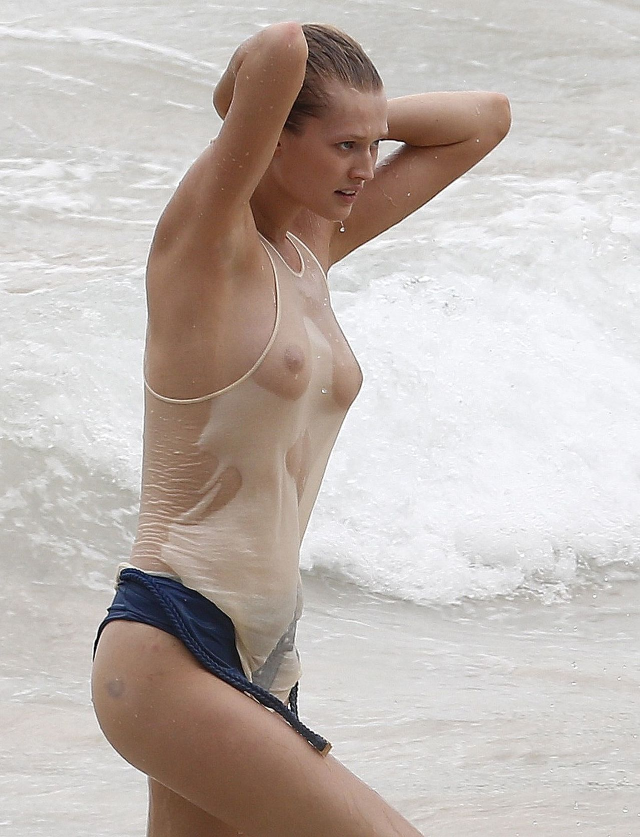 Toni Garrn - breasts