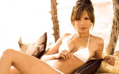 Nadine Velazquez in a bikini