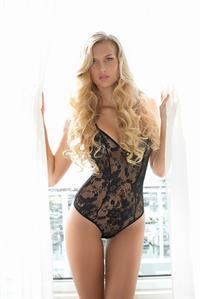 Isabell Klem in lingerie