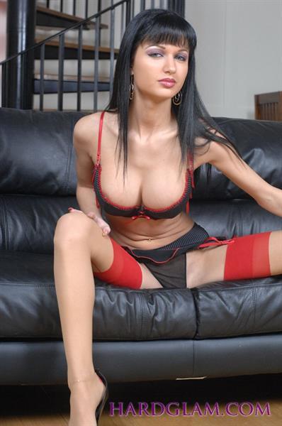 Roxanne Milana in lingerie