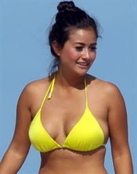 Catherine Giudici in a bikini