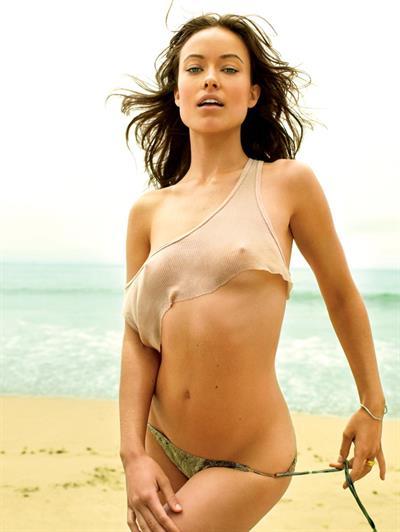 Olivia Wilde in a bikini - breasts