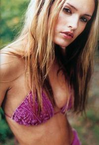 Vibe Sørensen in a bikini