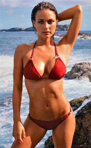 Josie Maran in a bikini
