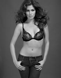 Amber Alvarez in lingerie