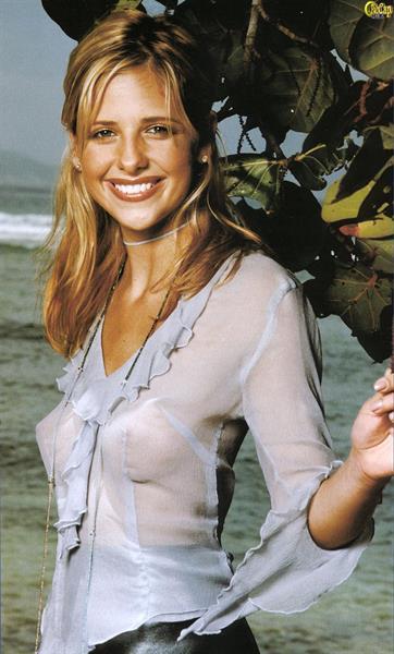 Sarah Michelle Gellar nackt, Oben ohne Bilder, Playboy