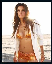 Missy Peregrym in a bikini