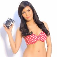 Myrtle Sarrosa in a bikini