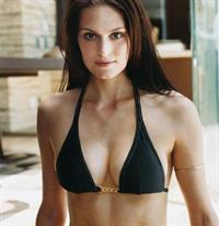 Morgan Webb in a bikini