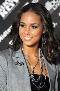 Alicia Keys Element of Freedom Album Promotion Tokyo on January 14, 2010