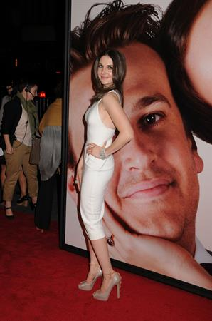 Alison Brie attending The Five Year Engagement premiere on April 18, 2012