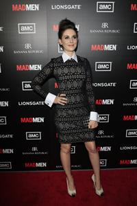 Alison Brie premiere of AMC's Mad Men Season 5 on March 14, 2012