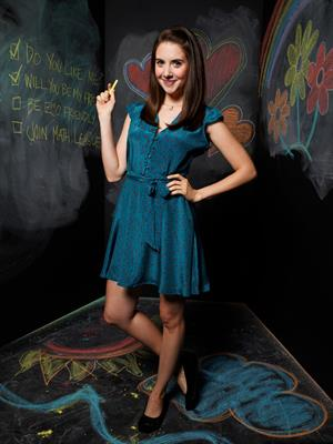 Alison Brie Community Season 2 photoshoot