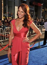 Amanda Righetti premiere of Captain America the First Avenger at the El Capitan Theatre on July 19, 2011