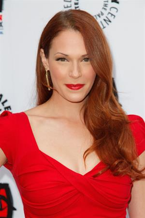 Amanda Righetti Paley Centers Opening of Television Out of the Box in Beverly Hills on April 12, 2012