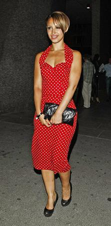 Amelle Berrabah F1 GP party 2010