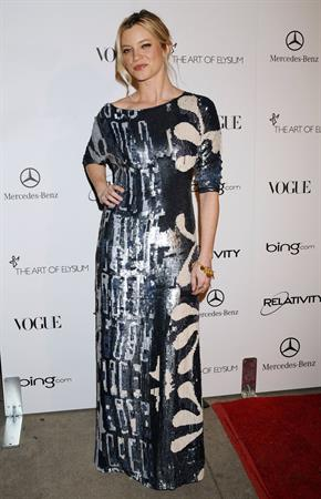 Amy Smart attends the Art of Elysium Heaven Gala 2011 on January 15, 2011