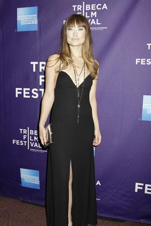 Olivia Wilde 10th annual tribeca film festival one for all shorts program in new york city april 22 2011