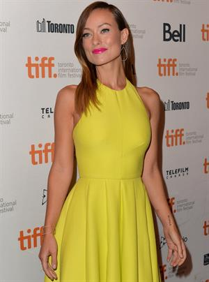 Olivia Wilde  Third Person  Premiere at the Toronto Film Festival - September 9, 2013