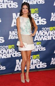 Selena Gomez at the 2011 MTV movie awards in Los Angeles on June 5, 2011