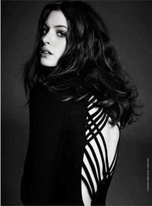 Anne Hathaway GQ Magazine Spain July August 2012