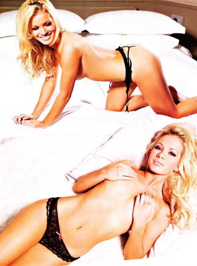 Stacey Hannant in lingerie