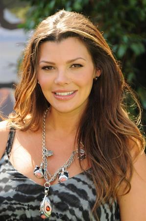 Ali Landry attends the Lion King 3D Premiere in Los Angeles on August 27, 2011