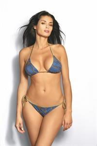 Beatrice Chirita in a bikini