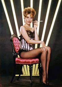 Jane Fonda in lingerie