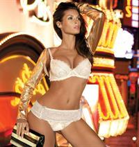 Beatrice Chirita in lingerie