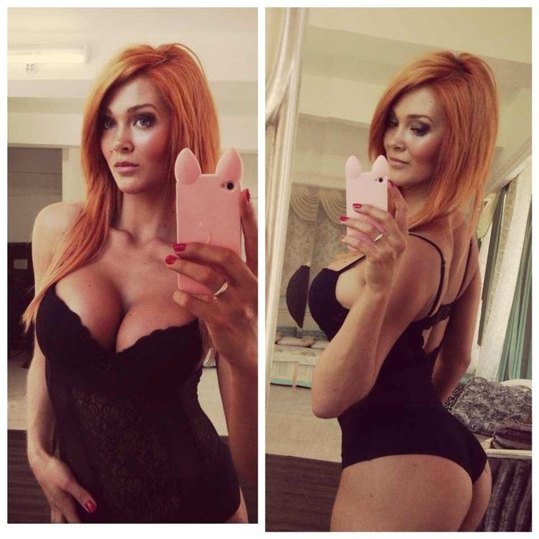 Anonymous in lingerie taking a selfie and - ass