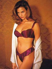 Jill Goodacre in lingerie