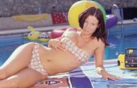 Andrea Hercogova in a bikini