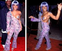 Lil' Kim at the 1999 MTV VMA Awards