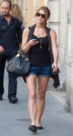 Ashley Greene in Paris on September 4, 2010