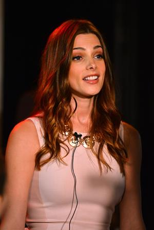 Ashley Greene attending the Nylon Magazine August party in Hollywood on July 31, 2012
