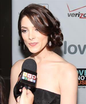 Ashley Greene Loveisrespect's Louder than Words Party in Hollywood on February 1, 2012