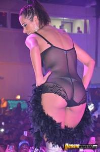 Larissa Riquelme in lingerie - ass