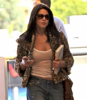 Ashley Greene goes for a manicure in Los Angeles
