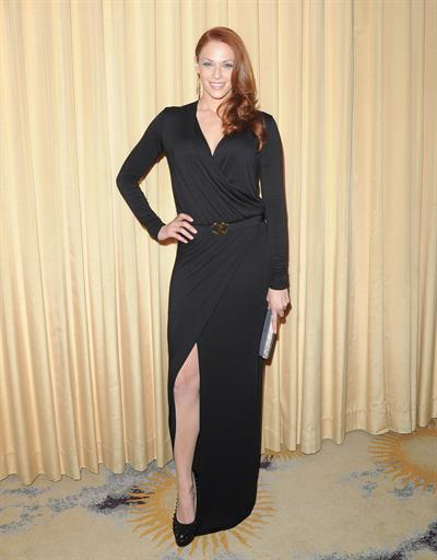 Amanda Righetti Forevermark and Instyle Golden Globes event 10.01.12