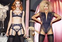 Rose Bertram in lingerie