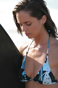 Eliza Dushku in a bikini