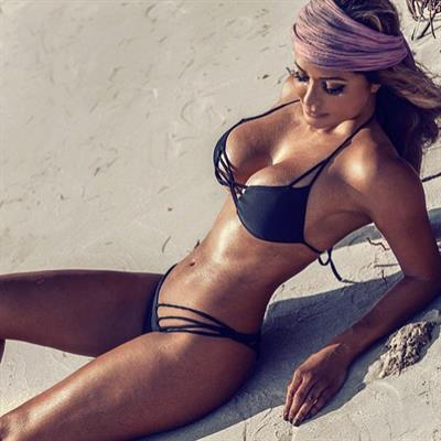Josie Mont in a bikini