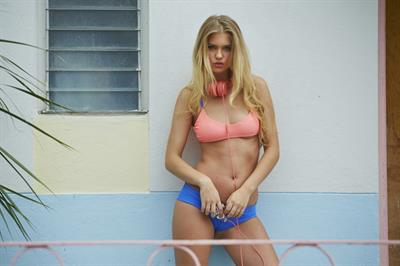 Alexandria Morgan in a bikini