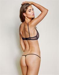Robin Holzken in lingerie - ass