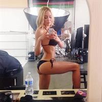 Renée Hall in a bikini