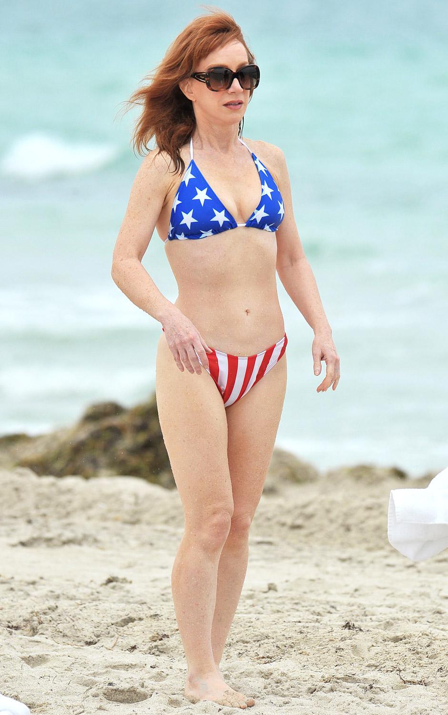 Kathy Griffin in a bikini