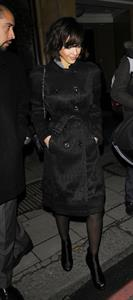 Jessica Alba night out in London February 13, 2010
