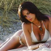 Rossella Brescia in a bikini